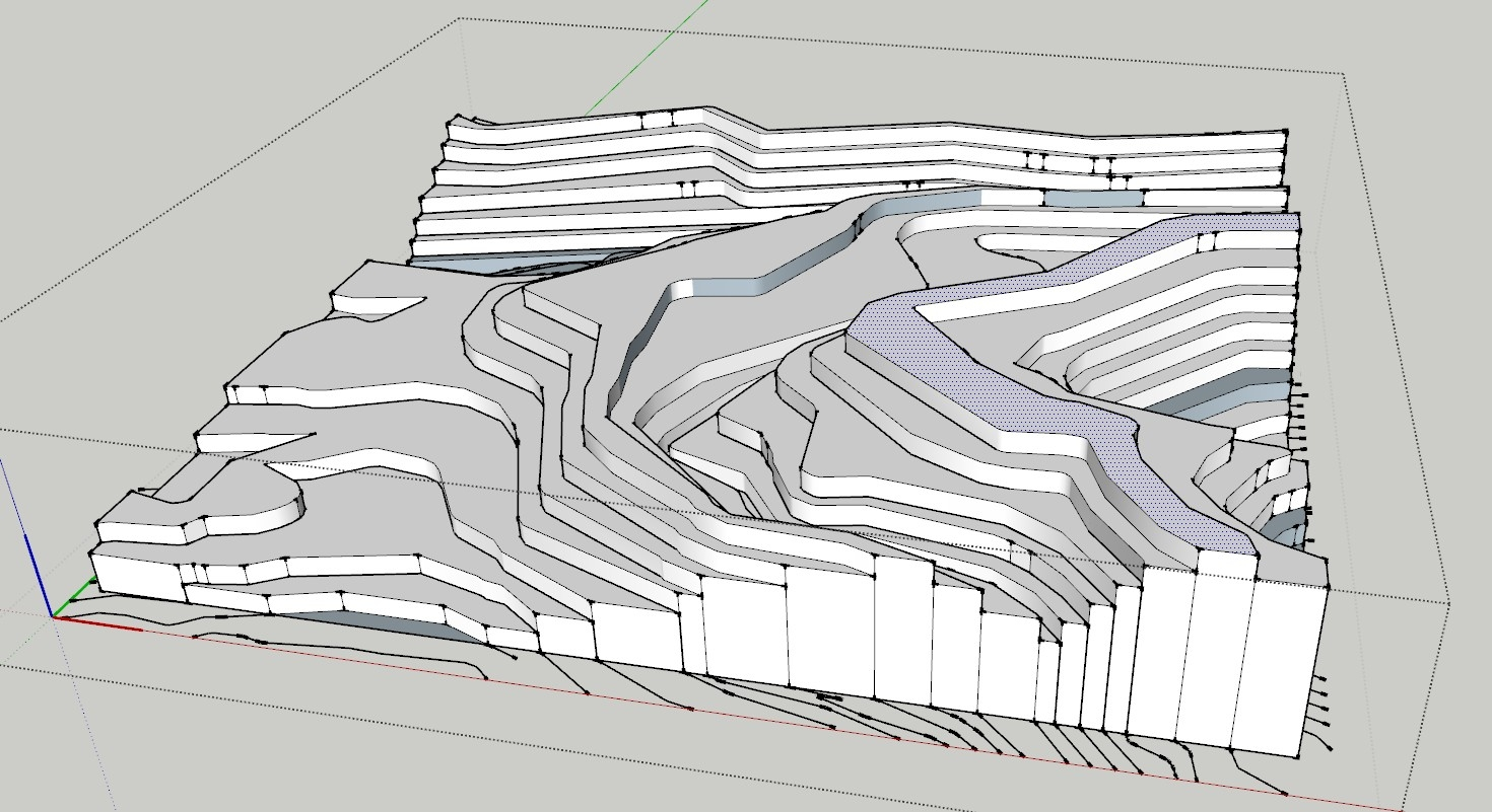 Contour Line Drawing Autocad : Images about topography on pinterest